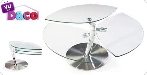 Table Basse En Verre Design Haut De Gamme. Table Basse En