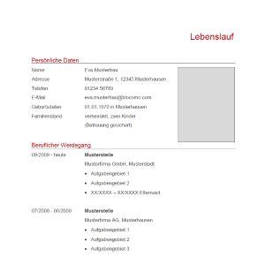 Kurzlebenslauf Vorlage by 114 Lebenslauf Muster Vorlagen 2019 Kostenlos Als