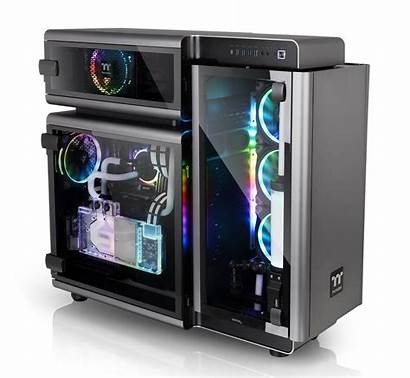 Level Thermaltake Tower Gt Computex Chassis Taipei