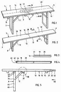 Bierzeltgarnitur Selber Bauen : patent ep1092364a1 tisch und sitzbank zur verwendung in festzelten und bierg rten google patents ~ Markanthonyermac.com Haus und Dekorationen