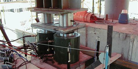 pile compression load testing geotechnical instrument
