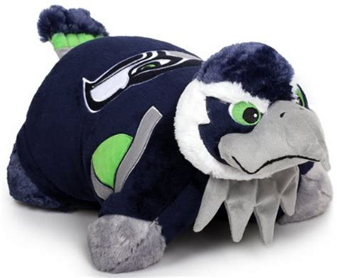 hot nfl seattle seahawks pillow pet   price