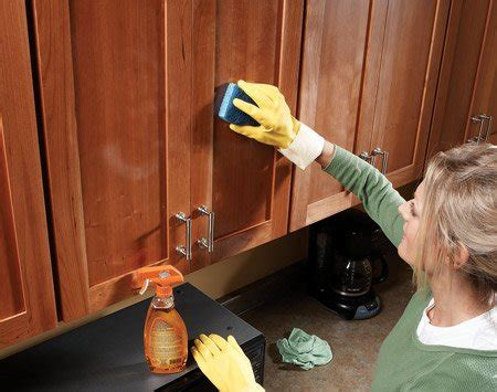 What To Use To Clean Cabinets by What To Use To Clean Kitchen Cabinets Home Furniture Design