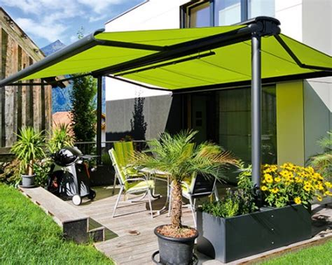 store parasol pente professionnel stores markilux pose store terrasse