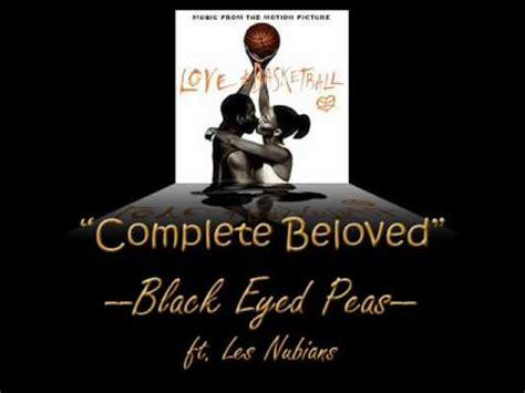complete beloved lyrics black eyed peas ft les