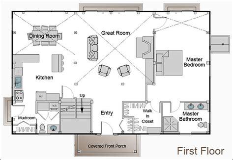 small cabin floor plans with loft easy barndominium builder software programs cad pro
