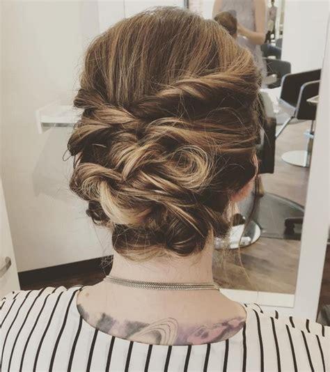 trendy updos  medium length hair updo hairstyle ideas