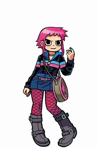 Ramona Flowers Pilgrim Scott Comic Comics Character