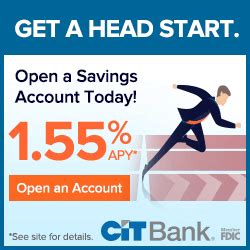 We did not find results for: CIT Bank Premier High Yield Savings Account Promotion: 1.55% APY (Nationwide)