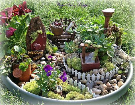 rustic fairy garden kit fairy garden set miniature fairy