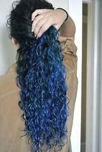 Ideas para cabello on Pinterest   Blue Ombre Hair, Two ...
