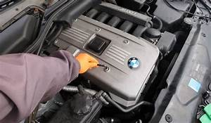 Bmw Engine Cover Removal  How To Take Off