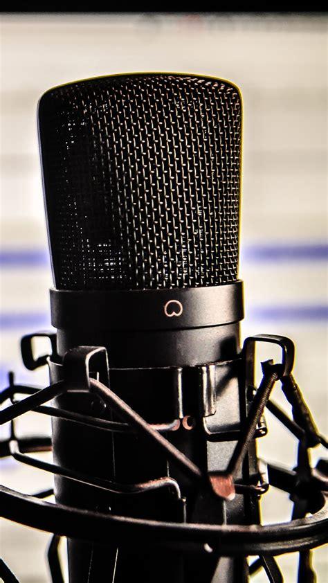 microphone studio recording mike  wallpaper