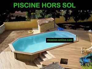 Piscine Hors Sol En Bois Pas Cher : piscine hors sol en bois pas cher decoration piscine en ~ Premium-room.com Idées de Décoration