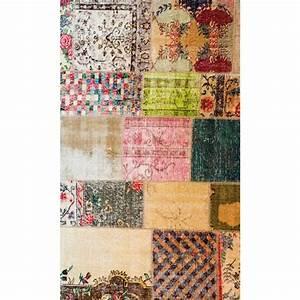 Tapis Vinyl Salon : tapis vinyle vintage 60 x 100 cm stickers stickers ~ Melissatoandfro.com Idées de Décoration