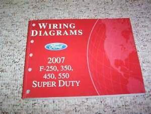 2007 Ford F350 Super Duty Electrical Wiring Diagram Manual