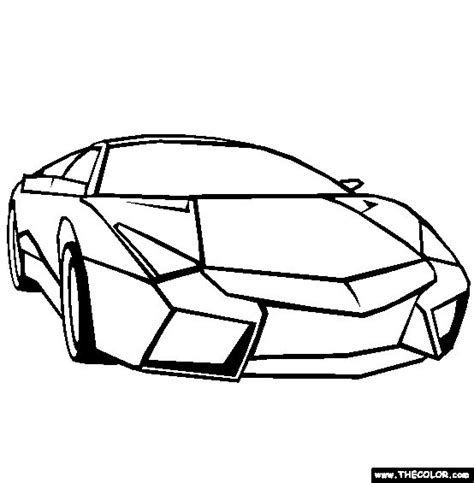 Kleurplaat Lamborghini Sesto Elemento by 98 Best Images About Car Truck Colouring On