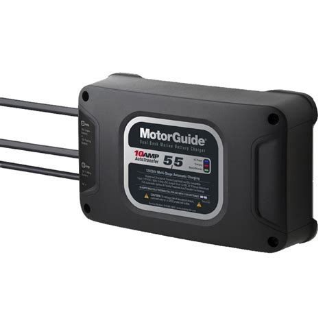 Marine Battery Charger 10 by Motorguide 210 Dual Bank 10a Marine Boat Battery Charger 2