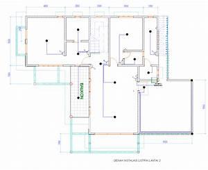 New Denah Rumah Dengan Instalasi Listrik