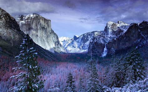 Winter At Yosemite Valley 4k Wallpapers Hd Wallpapers