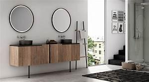 Meuble De Salle De Bain Industriel : meuble de salle de bain avec lave linge atlantic bain ~ Teatrodelosmanantiales.com Idées de Décoration