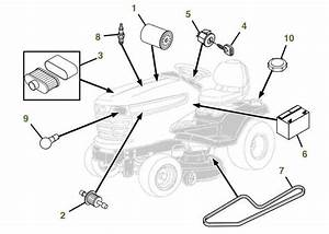 John Deere X380 Parts Diagram
