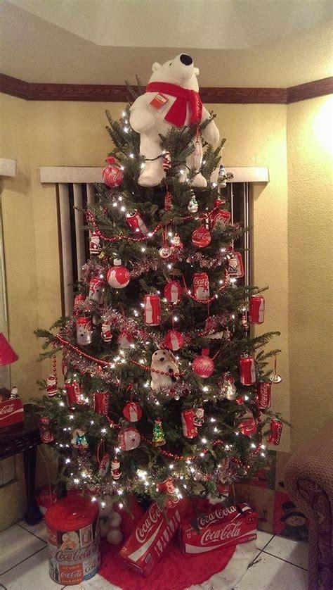 coca cola christmas tree love the coca cola bear as a