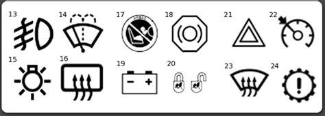 Car Indicator Lights
