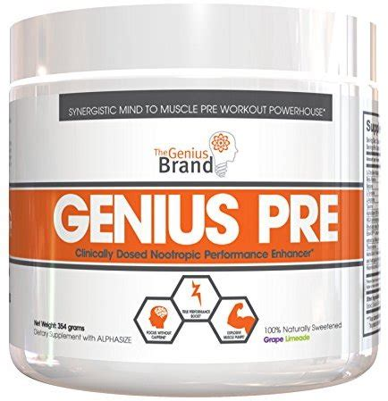 The Genius Brand Genius Pre Workout  Save At Priceplow