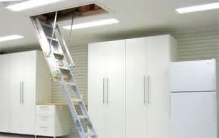 Garage Attic Ladder Ideas