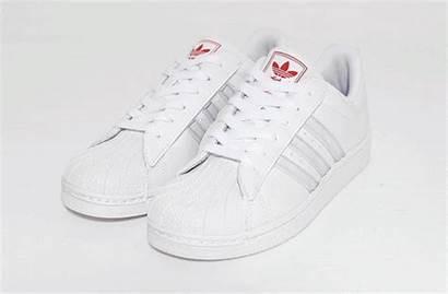 Superstar Adidas Rojo Multicolor Blanco Pu Manelsanchez