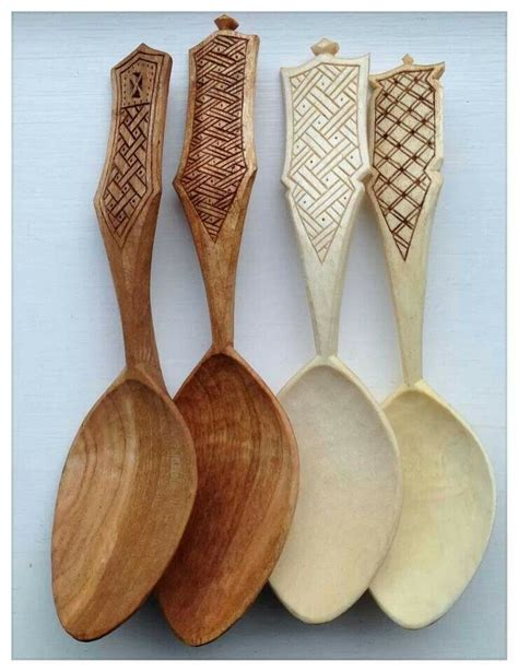 wooden spoons carved  simon hill scandinavian