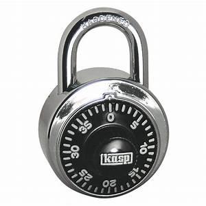Cadenas à Code : cadenas kasp k11548d argent avec serrure combinaison ~ Edinachiropracticcenter.com Idées de Décoration