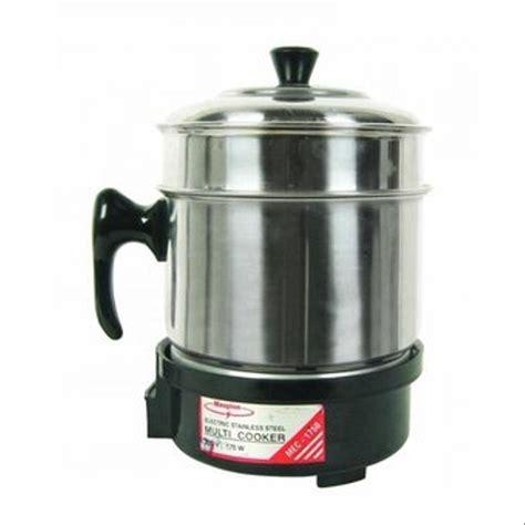 Panci Elektrik Maspion jual maspion multi cooker mec 1750 alat masak serbaguna