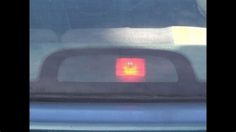 wechseln ersetzen lampe mittleren bremslicht