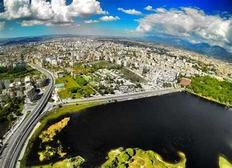 Liqeni i Tiranës #aerial   Visit albania, Albania, Aerial