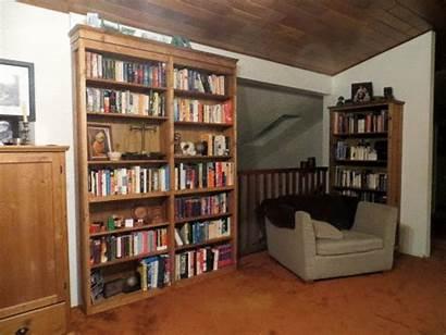 Door Secret Bookcase Diy Hidden Bookshelf Doors