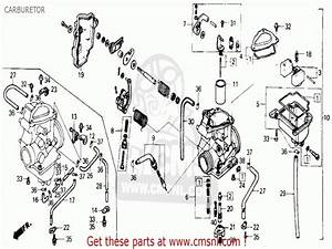1986 Honda 200 Fourtrax Parts Diagram