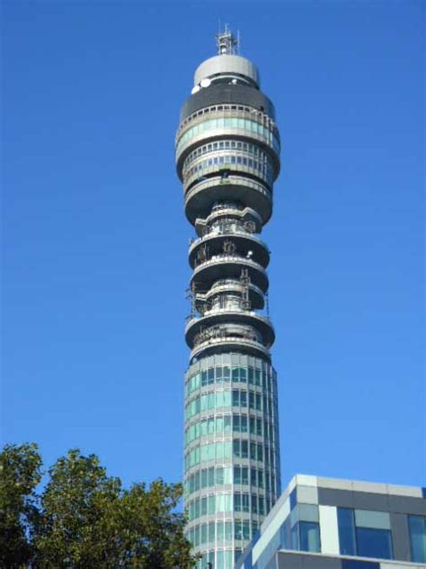 telecom tower london bt tower  architect
