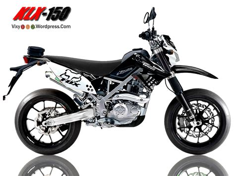 D Tracker 150 Modif Supermoto by Kawasaki D Tracker 150 Modifikasi Supermoto Kawasaki Klx
