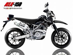 Modifikasi Klx 150 Supermoto Motorcycle Custome Kawasaki
