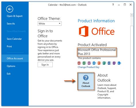 Office Version by How To Determine Which Outlook Version Number I M Using