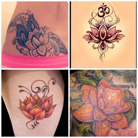 de tatouage fleur de lotus mon tatouage