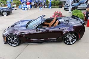 [PICS] 2017 Corvette Grand Sport Convertible in Black Rose ...
