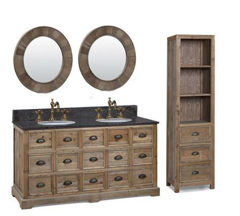 rustic double sink vanity legion 60 inch double sink rustic bathroom vanity black