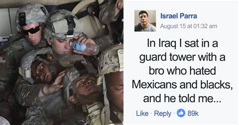 Man Who Hated Blacks And Mexicans Joins Army, And His