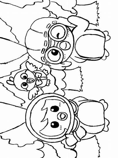 Penguin Coloring Pororo Pages Printable Cartoon Colors