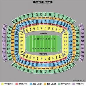 Houston Texans Seating Chart Nrg Stadium Houston Texans Football Stadium Stadiums Of