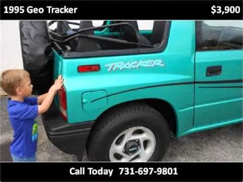 Used Cars For Sale St Fl by 1995 Geo Tracker Used Cars Jackson Tn