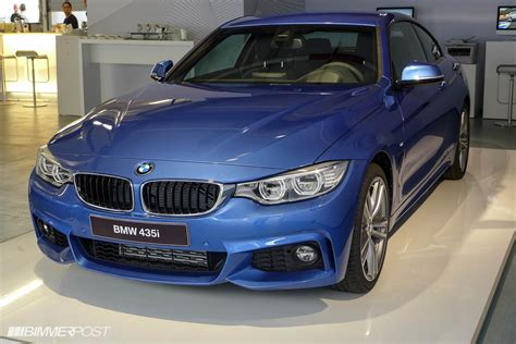 Pictures Of An Estoril Blue Bmw 435i M Sport With M